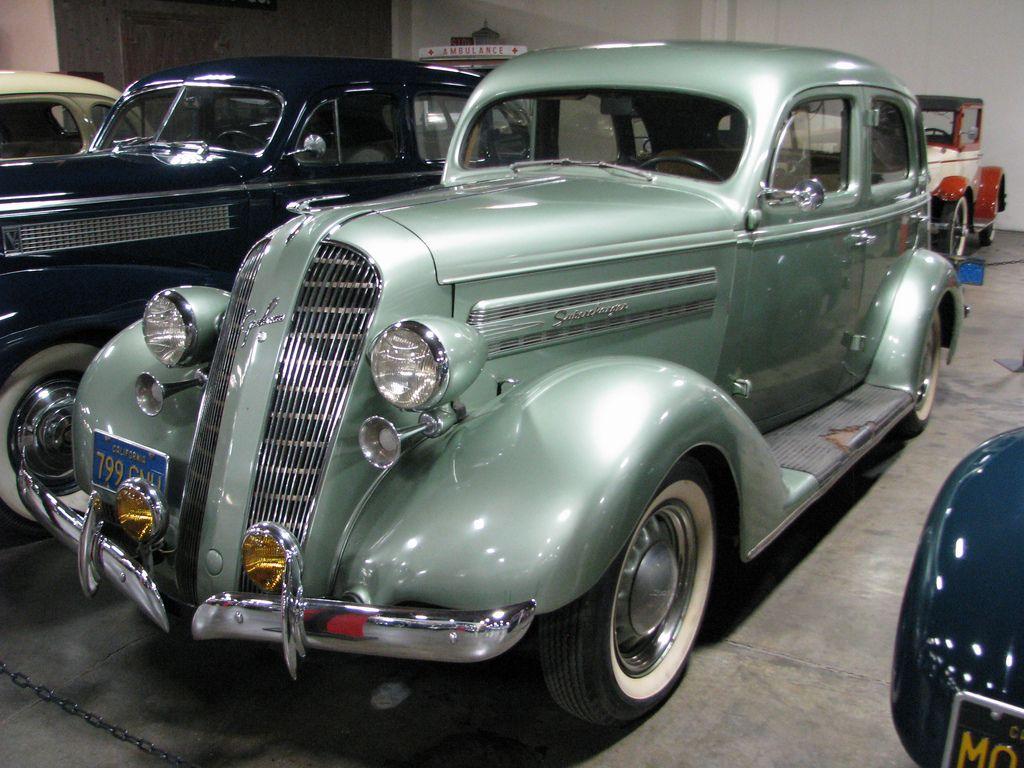 1936 Graham 110 Supercharger Six Trunk Sedan 01 1930's