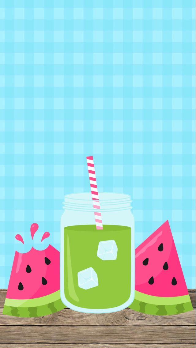 Watermelon summer wallpaper Walpaper Android Pinterest