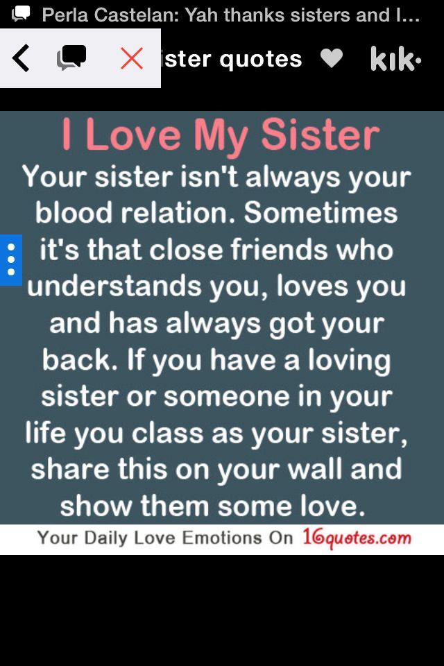 BFF Quotes Perfect Mirelle Mirabella Archibald I Told You 60 Custom Loving My Sister