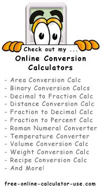 Online Conversion Calculators for Weights and Measures   Learning