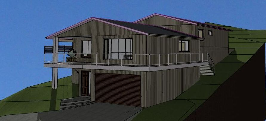 Sloping block house designs australia home design and style for Home designs for sloping blocks