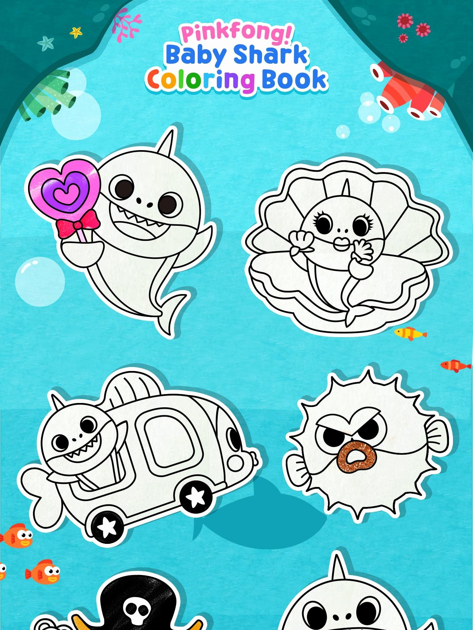 Baby Shark Coloring Page Lovely Pinkfong Baby Shark
