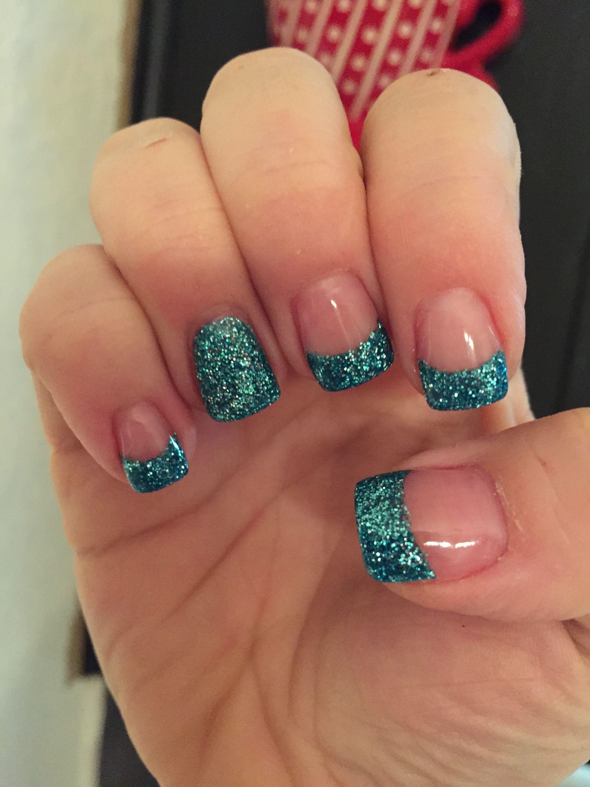 My Glitter Solar Nails