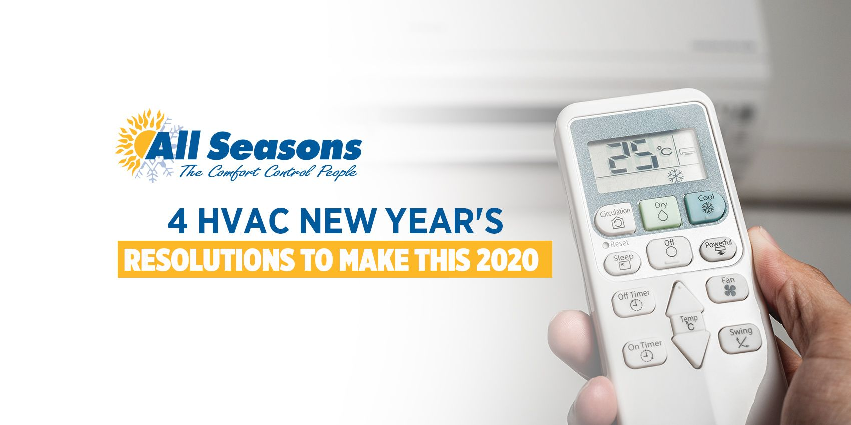 Here Are Four 4 Hvac New Year S Resolutions You Shouldn T Miss