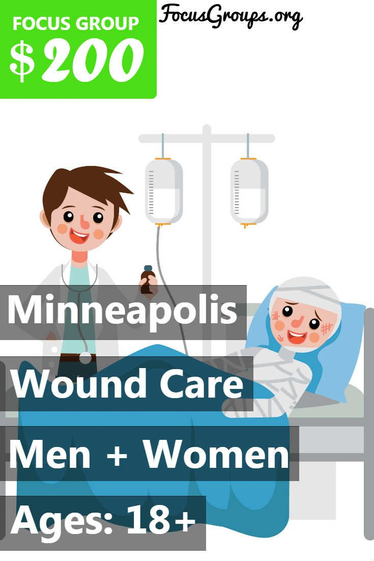 Focus Group For Nurses On Wound Care In Minneapolis 200