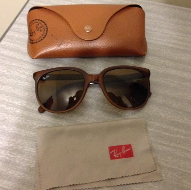 256b3fd1a20102 VINTAGE RAY BAN CATS BAUSCH   LOMB BROWN FRAME FRANCE NYLON SUNGLASSES  RARE!  RayBan  Retro