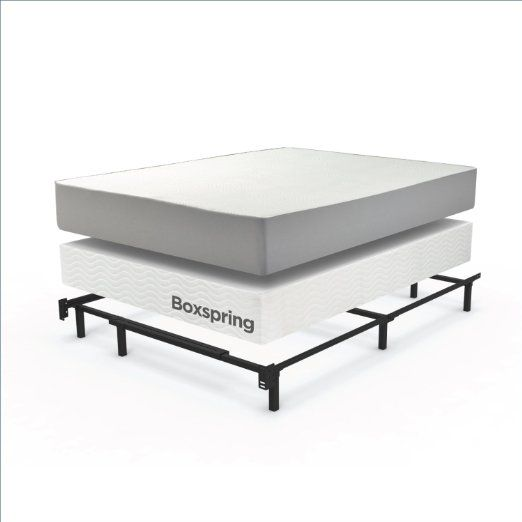 Awesome Amazon.com: Zinus Compack Adjustable Steel Bed Frame, For Box Spring U0026 Mattress  Set, Fits Full To King: Kitchen U0026 Dining
