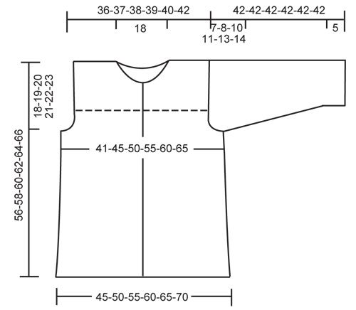 """DROPS 111-18 - DROPS jakke i """"Alpaca"""" med ¾-lange ærmer. Str S til XXXL. - Free pattern by DROPS Design"""
