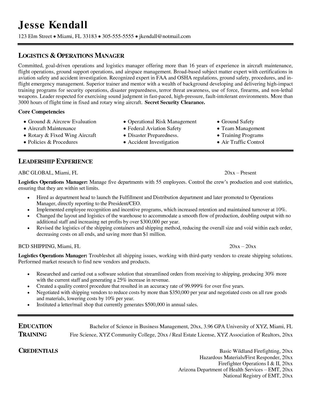 Marketing Operations Executive Resume http//www