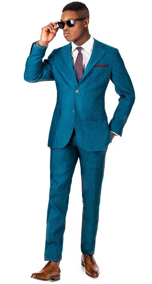 Mens White Linen Suit For Reception | Mens linen suit | Pinterest ...