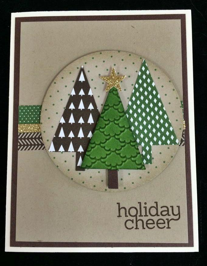 stampin 39 up cards christmas pinterest cartes de no l carte no l et cartes. Black Bedroom Furniture Sets. Home Design Ideas