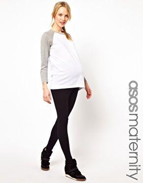 ASOS Maternity Full Length Soft Touch Leggings