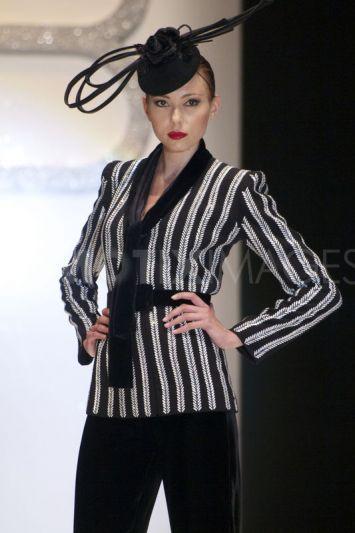 Fashion Designer Renato Balestra latest Haute Couture collection