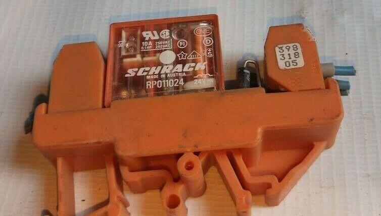 Weidmuller Schrack Rp011024 Relay With Base 250vac Weidmullerschrack Ebay Relay Wooden Toy Car