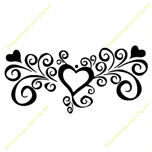 elegant swirl designs clip art clipart 12054 heart with swirls rh pinterest com elegant clip art free elegant clip art designs