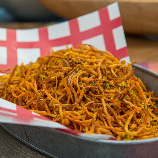 Shoestring Carrot Fries Recipe in 2020 Side dish