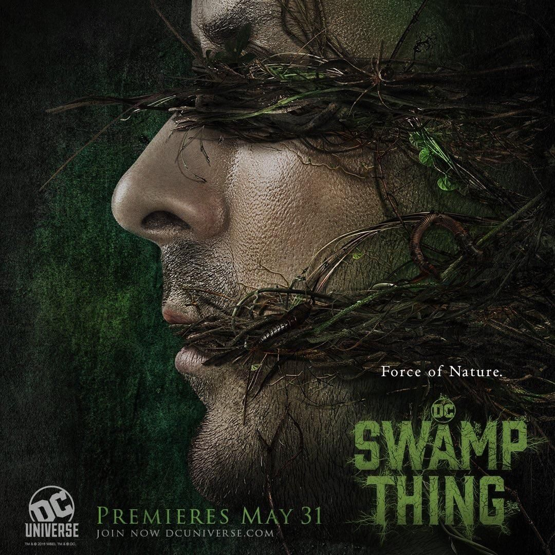 New promo art of Alec Holland in Swamp Thing #swampthing