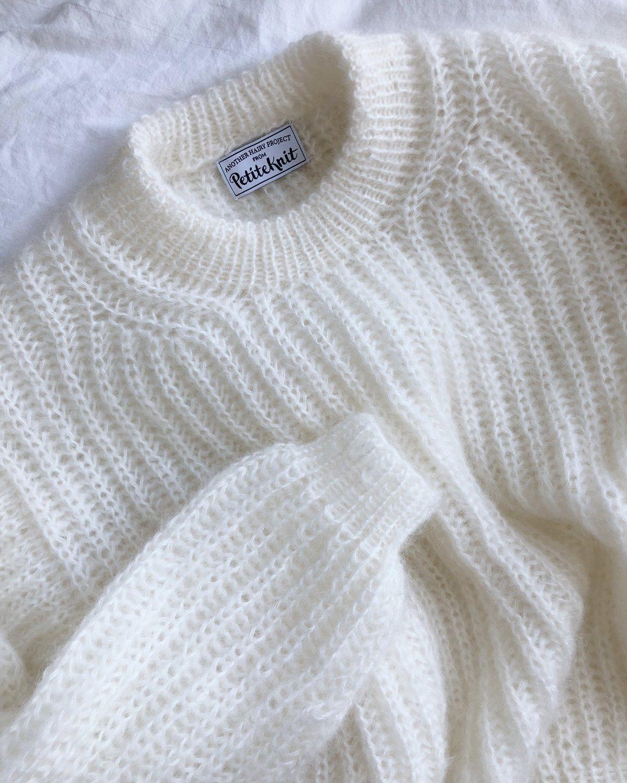 September Sweater PETITE KNIT strikkeopskrift MY SIZE