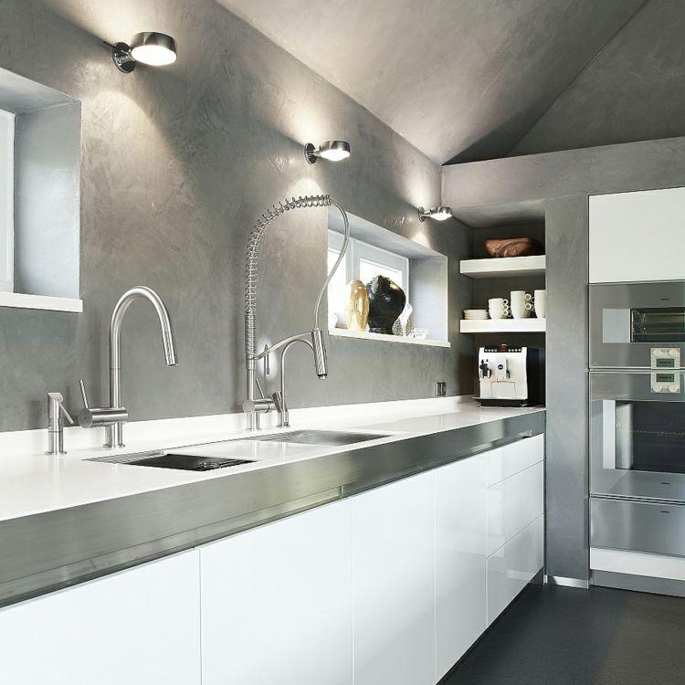 #kueche Edelstahl Küchenarmatur U2013 Wie Können Sie Ihre Moderne Küche  Einrichten #Edelstahl #Küchenarmatur