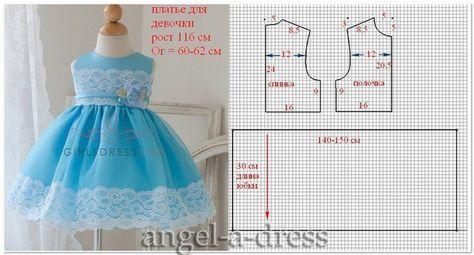 Como Hacer Vestidos De Fiesta Para Niñas Bebés Vestidos