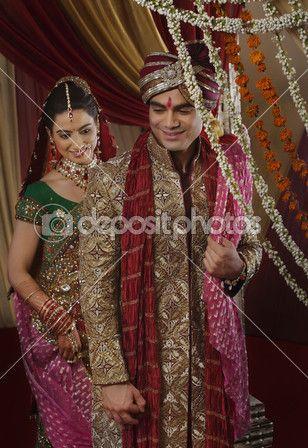 lindo casal indiano — Imagem Stock #47478349