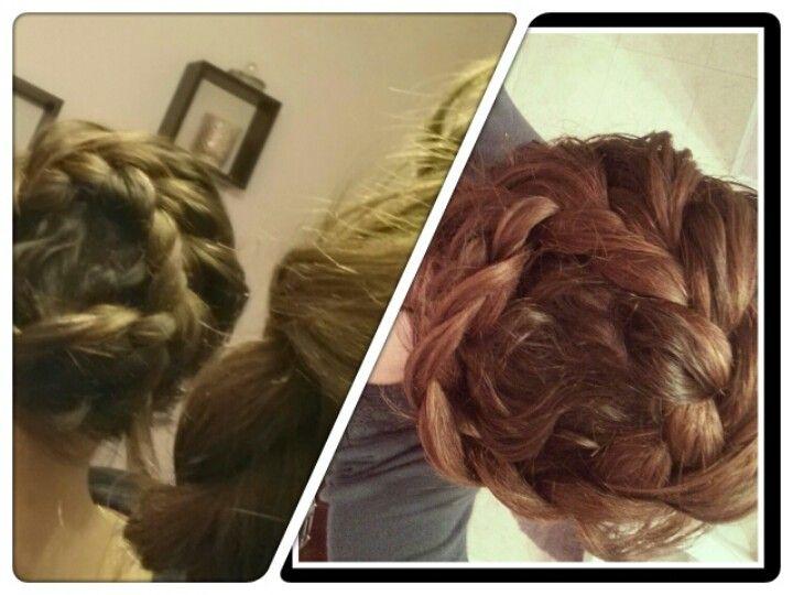 Ladies, the infinity braid.