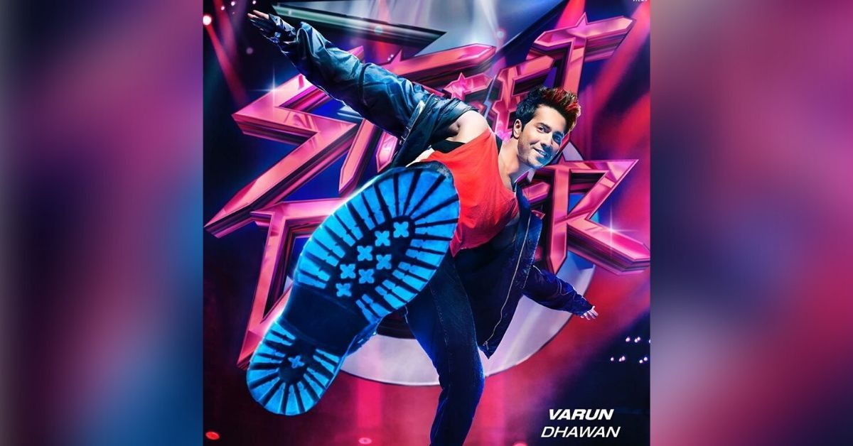 Street Dancer 3d New Poster Varun Dhawan Showing Off His Cool