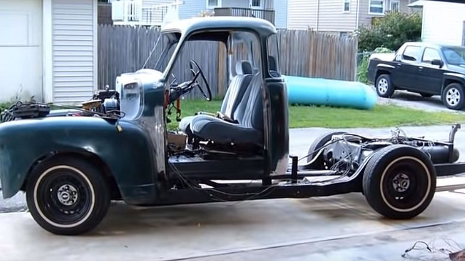 1951 Chevrolet 3100 Pickup 1995 Caprice Classic Diy Chassis Swap