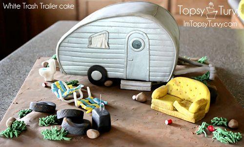 white-trash-trailer-fondant-cake by imtopsyturvy.com, via Flickr