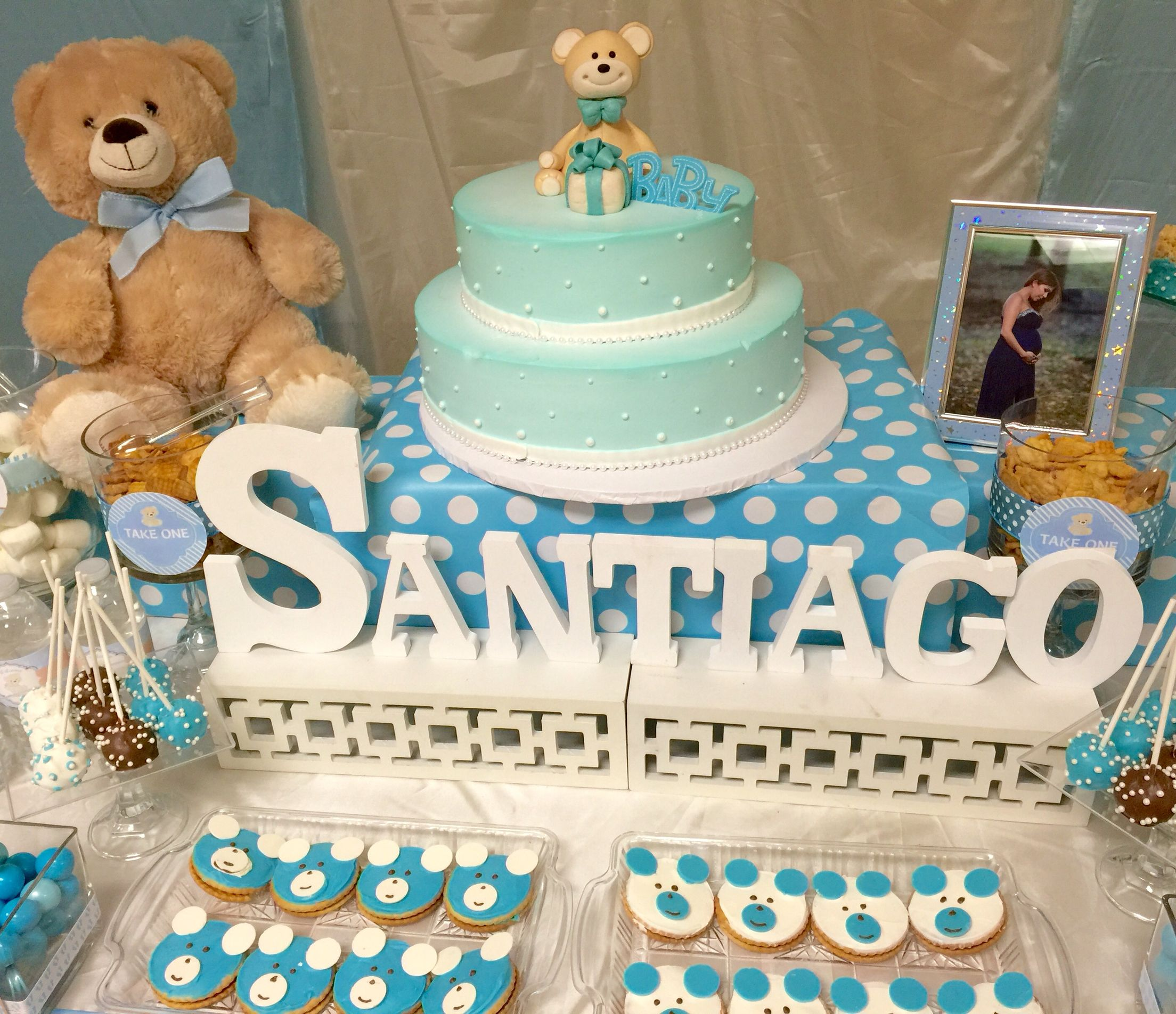 Baby Shower Teddy Bear Theme Party Ideas In 2018 Pinterest