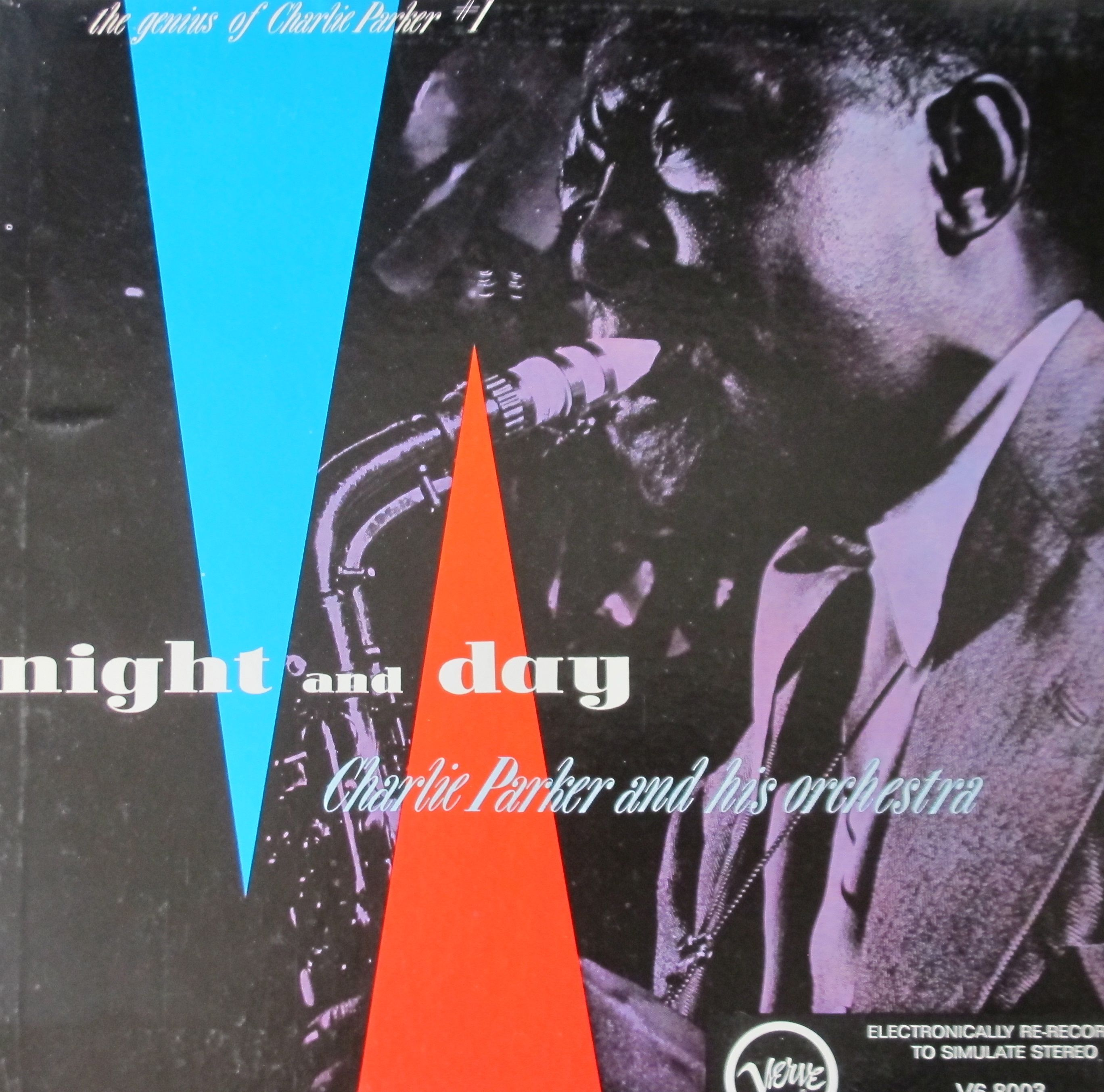 Charlie Parker Night And Day The Genius Of Charlie Parker 1 Day For Night Vinyl Record Art Classic Jazz