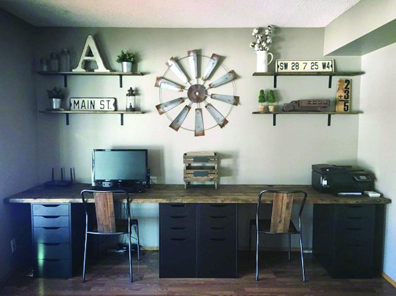 6 Office Organization Ideas Farmhouse Office Decor Rustic Home
