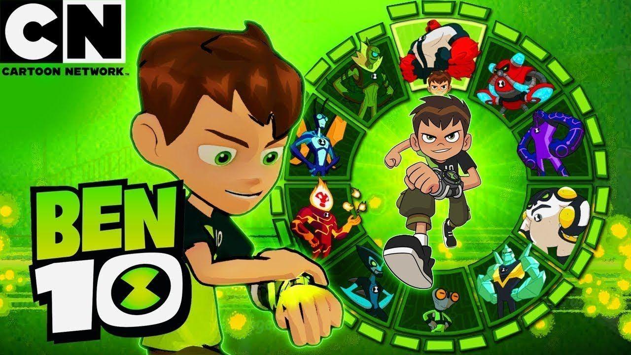 لعبة بن 10 جميع التحولات كرتون نتورك Ben 10 All Alien