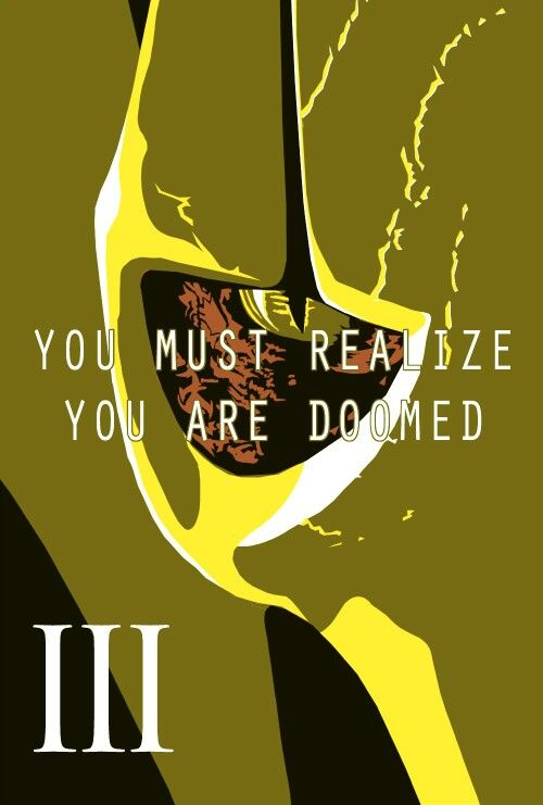 You Are Doomed Star Wars Movies Posters Star Wars Quotes Star Wars Geek