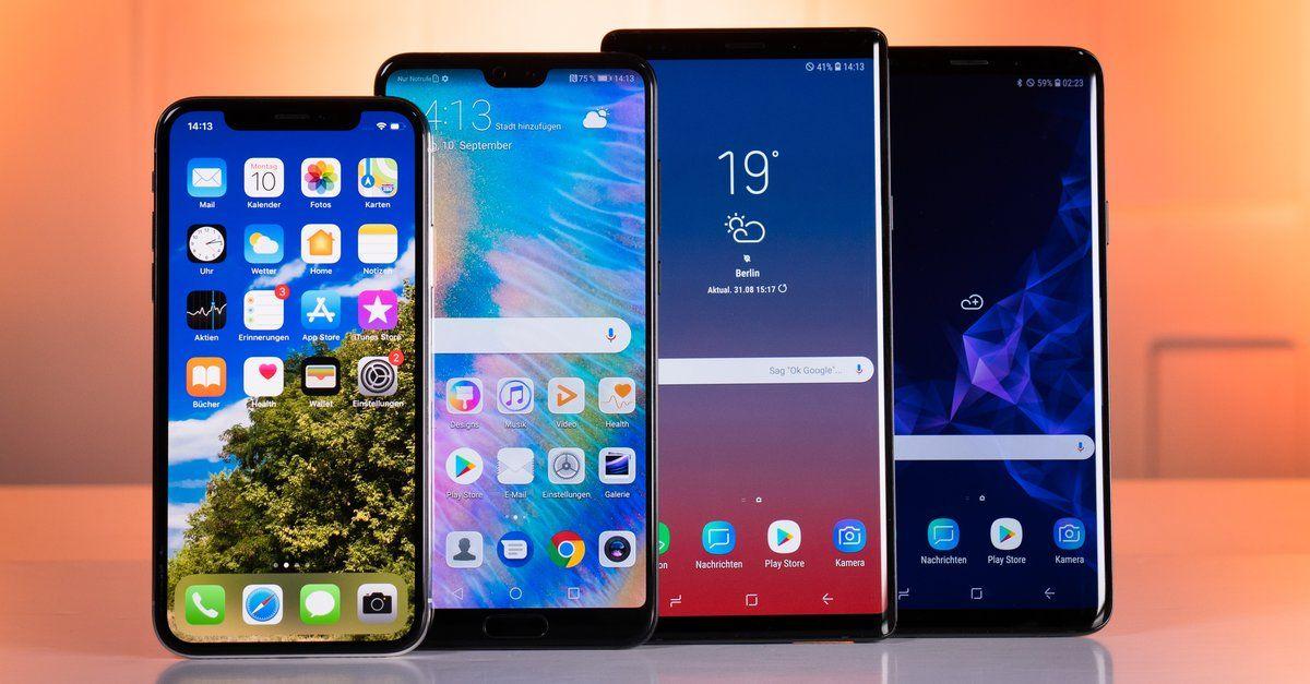 Top 10 Diese Smartphones Mussen In Deutschland Am Haufigsten Repariert Werden Best Smartphone Tablet 10 Things