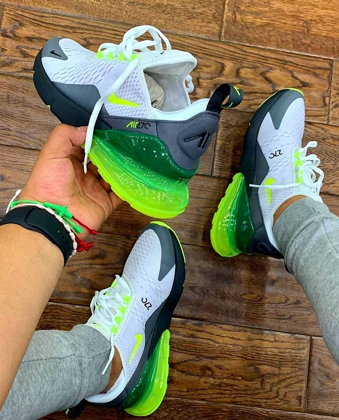 facc52e80c Tag a friend who would rock these @nike air max 270s platinum tint/volt  Limited sizes available Dm us to order #nikea... - CoinOku