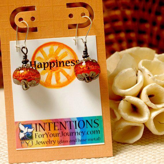 HAPPINESS  Handmade Inspirational Jewelry  by InspiretoEmpower