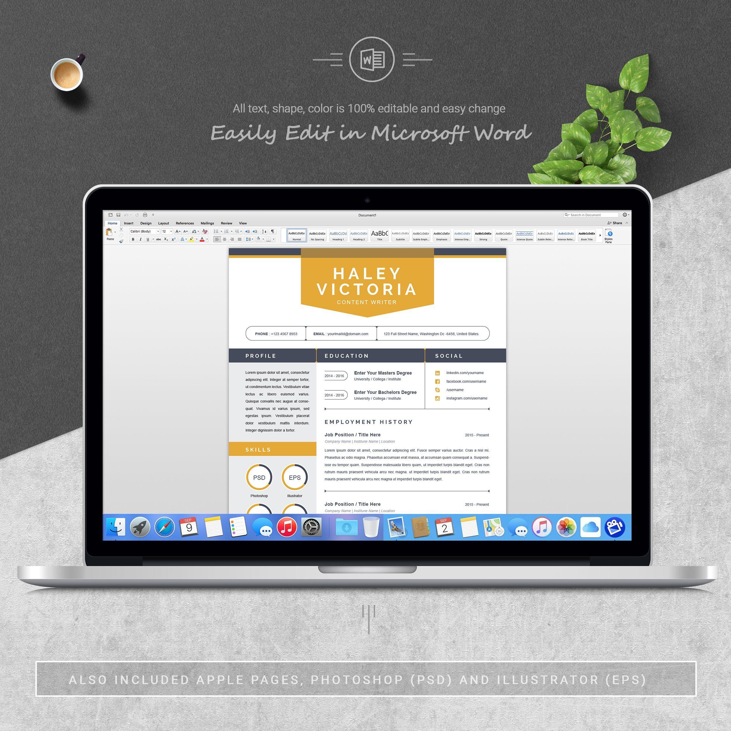 creative resume template  ad    affiliate   amp titles