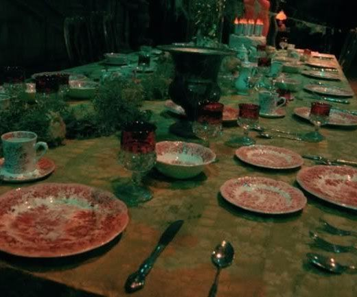 Haunted Mansion Dining Set  Haunted Mansion Mansion And Dining Beauteous Haunted Mansion Dining Room Design Ideas