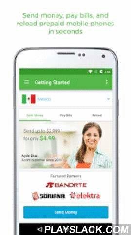 Xoom Money Transfer Android App , Easily