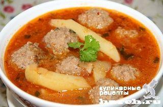 рецепт супа с тефтельками