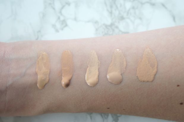 Foundation Swatches L R Mac Face And Body Foundation In N1 Chanel