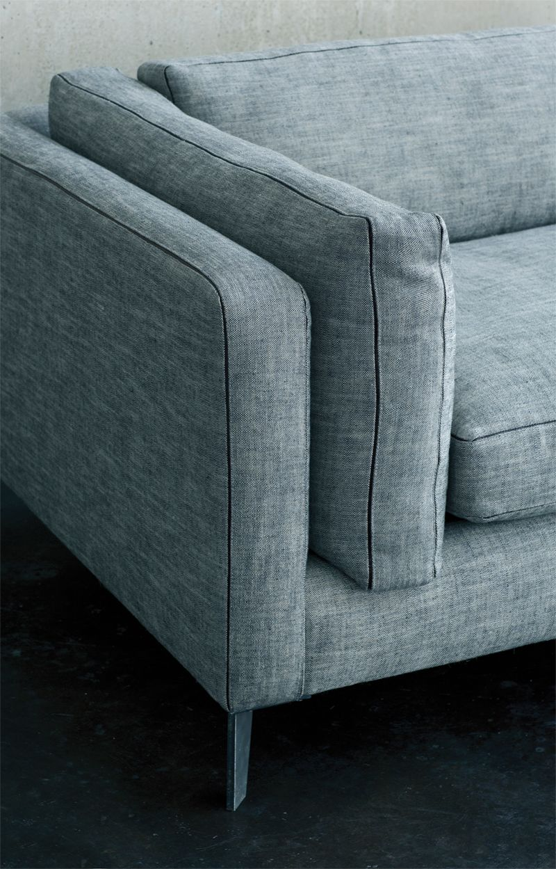 harris by montauk sofa handmade in montreal  from the 'modern  - harris by montauk sofa handmade in montreal