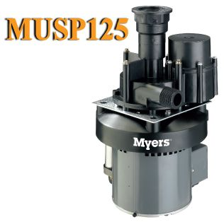 Myers Musp125 Utility Sink Pump For The Home