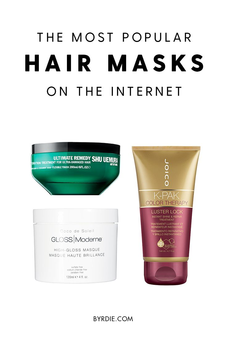 The most popular hair masks on the internet