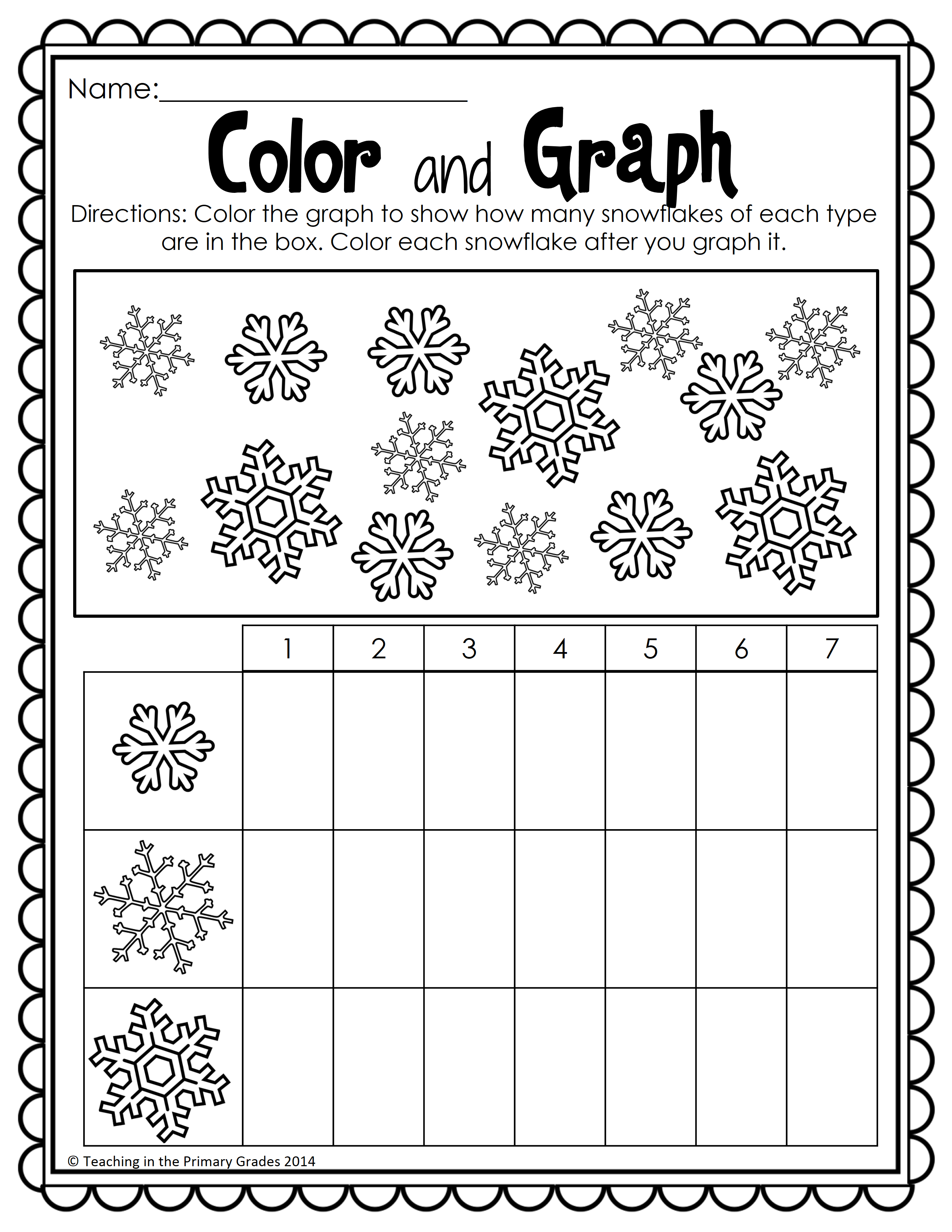 Winter Math And Literacy Printables No Prep