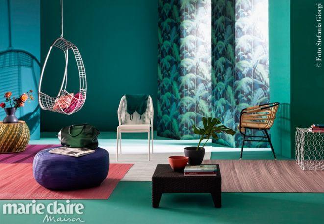 I mobili da giardino usati in salotto. | MCMaison_Arredo | Pinterest