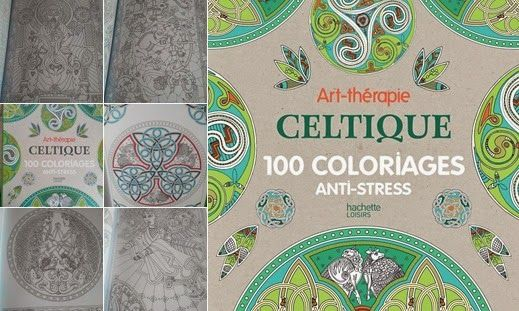 Celtique album de coloriage anti stress pour adultes - Album coloriage adulte ...