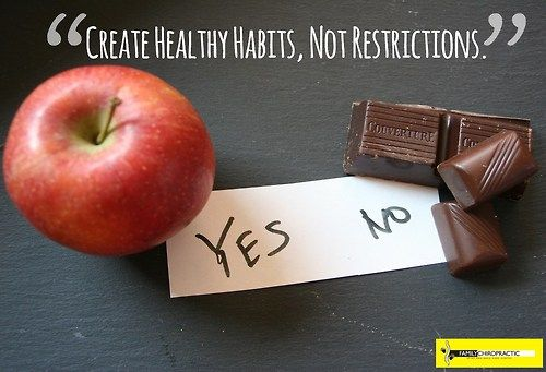 …Because being healthy doesn't mean giving up everything that isn't green. —You must realize what being healthy is. Give up diet fads like crash dieting just to fit in your jeans. Moderation is the key to stay healthy and varying the food that you eat will allow you to get all the nutrients you need.     Continue reading... http://tmblr.co/Z5b0Fo1Vz5L9t  Stay Healthy :D ~ www.familychiropractic.com.sg