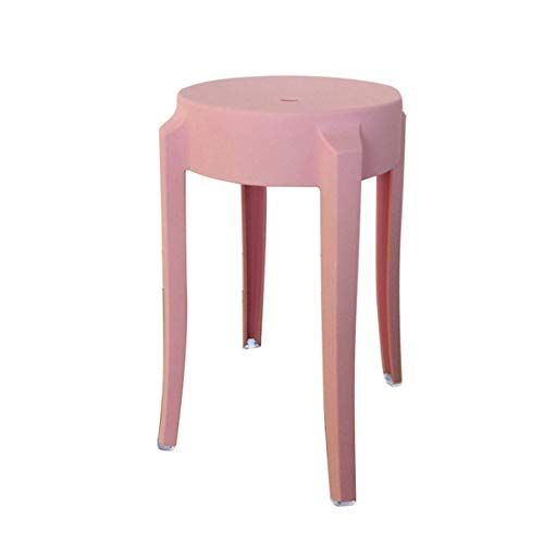 Amazing Lrw Plastic Stools Thickened Adult Fashionable Small Stools Ncnpc Chair Design For Home Ncnpcorg